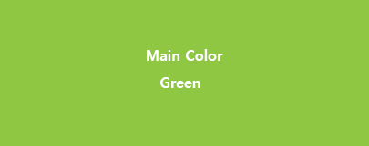 Main Color Green